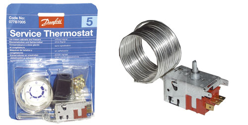 Thermostaat vriezer vervangen